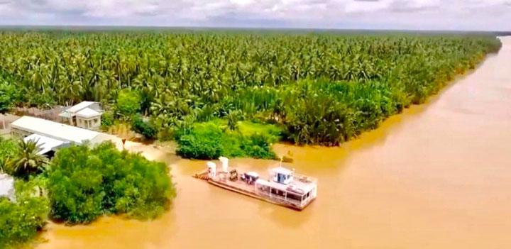 Cồn Ốc - Tiềm năng du lịch xứ Dừa