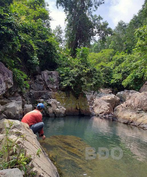 Kỳ thú suối Lỗ Giang (Bình Định)