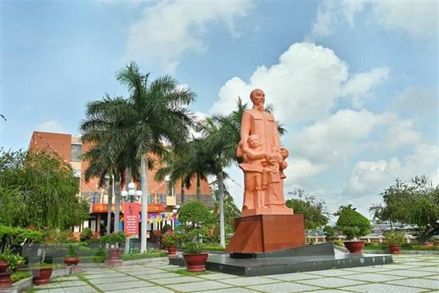 Bình Thuận: Triển lãm ảnh về Bác Hồ tại trường Dục Thanh