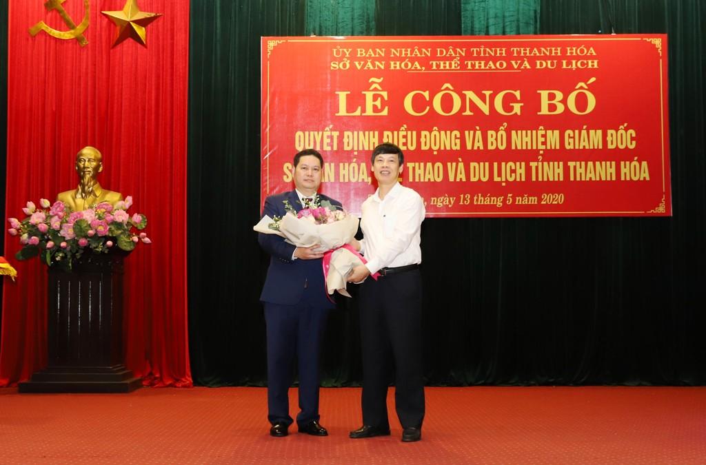 Thanh Hóa bổ nhiệm tân Giám đốc Sở Văn hóa, Thể thao và Du lịch