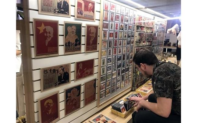 Gian lưu niệm độc đáo tại Bảo tàng Hồ Chí Minh