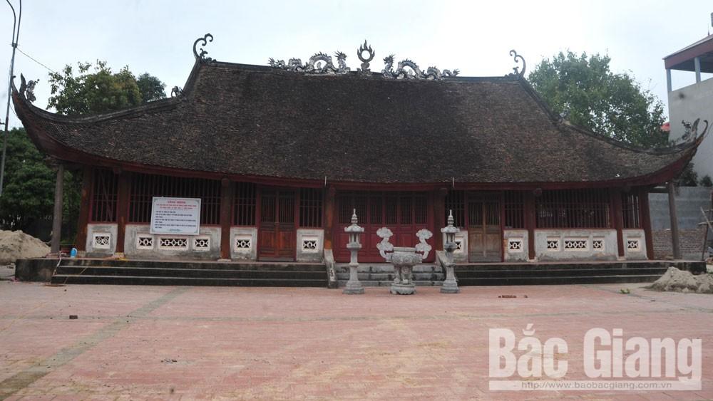 Ngôi đình cổ ở miền quê văn vật (Bắc Giang)