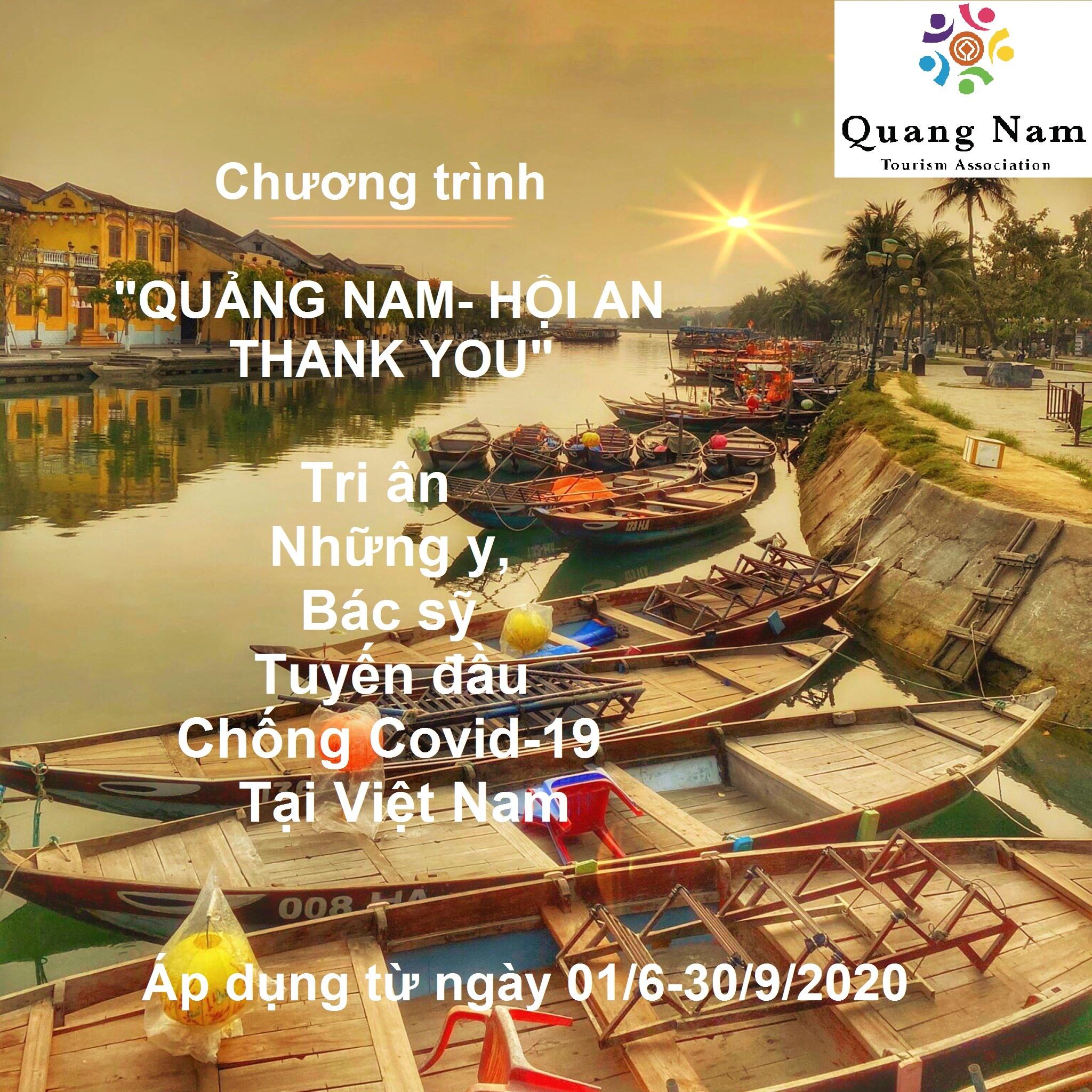 Quảng Nam ra mắt gói kích cầu du lịch tri ân y, bác sĩ chống dịch Covid-19