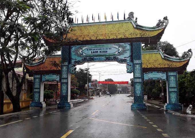 Thăm kinh thành cổ Lam Kinh – Thanh Hóa