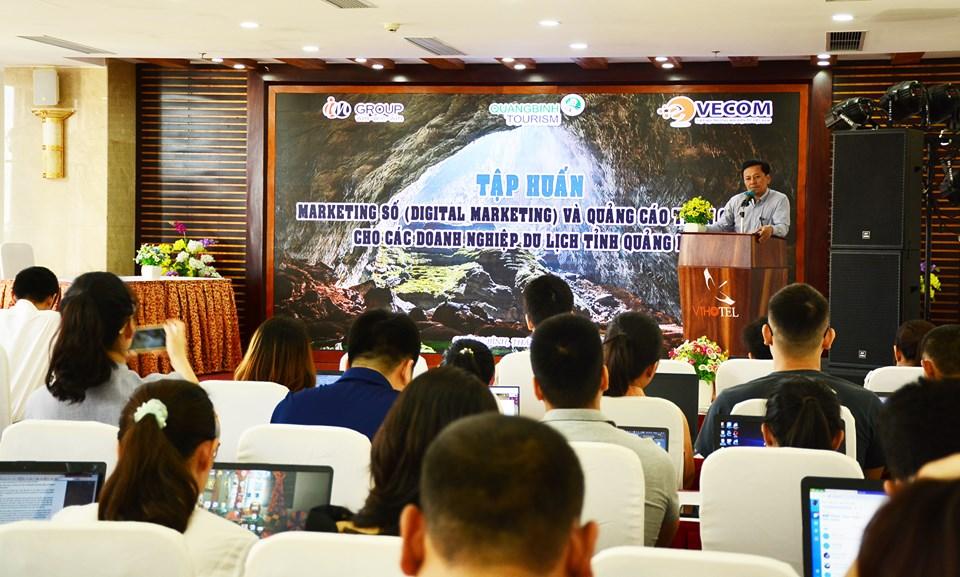Quảng Bình: Tập huấn marketing số và quảng bá trên Google cho các doanh nghiệp du lịch