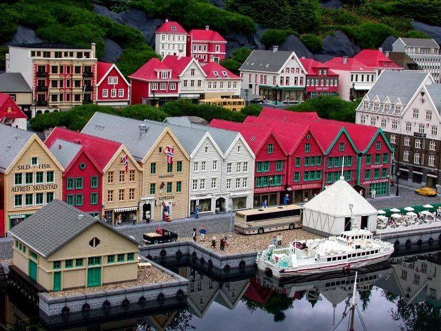 Cuộc sống thanh bình ở thành phố Bergen