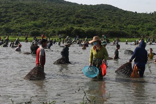 Độc đáo lễ hội Đồng Hoa - lễ hội đánh cá lâu đời gần 300 năm