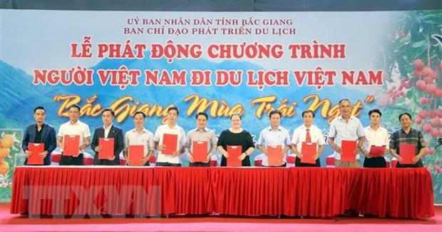 """""""Bắc Giang mùa trái ngọt"""" - điểm đến hấp dẫn khách du lịch"""