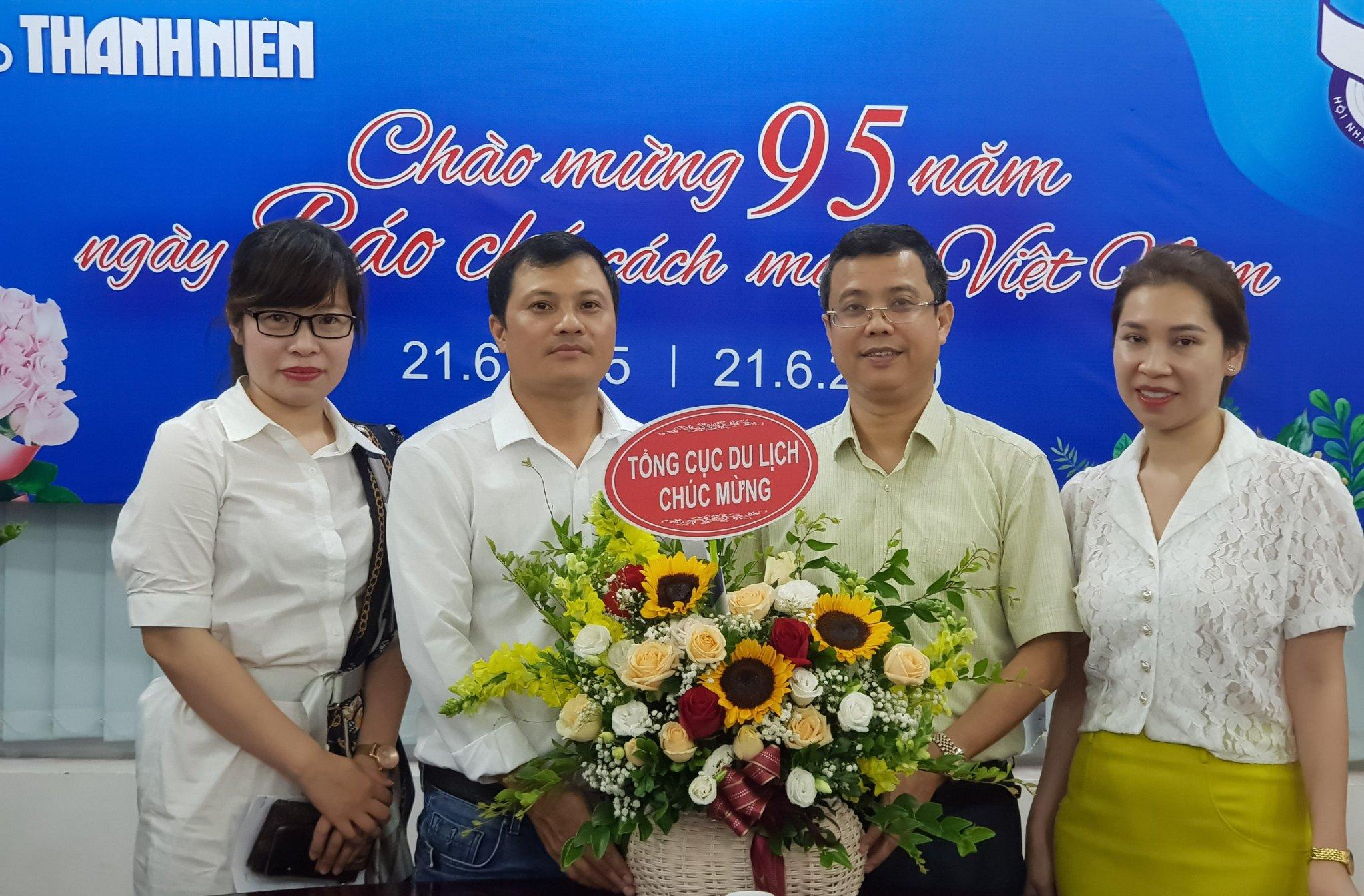 Lãnh đạo Tổng cục Du lịch chúc mừng các cơ quan báo chí, truyền thông nhân Ngày Báo chí cách mạng Việt Nam