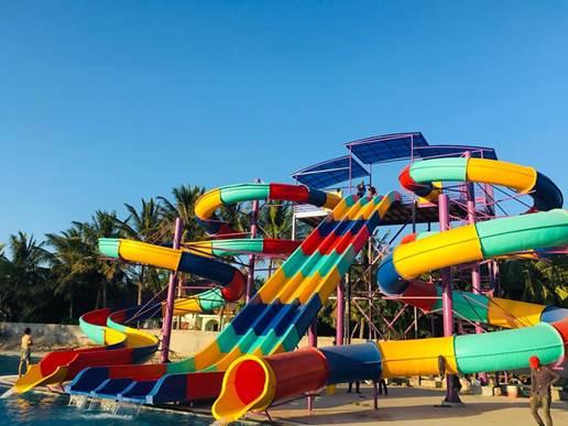 TTC Resort Ninh Thuận – Công viên nước chào đón du khách