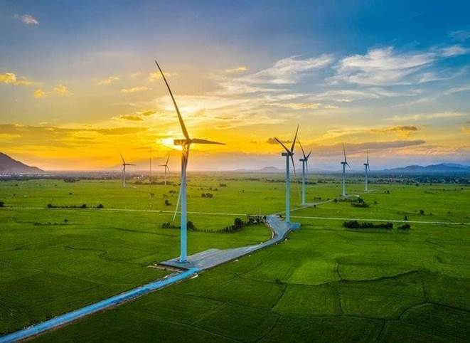 Check-in Cánh đồng điện gió siêu chất tại Ninh Thuận