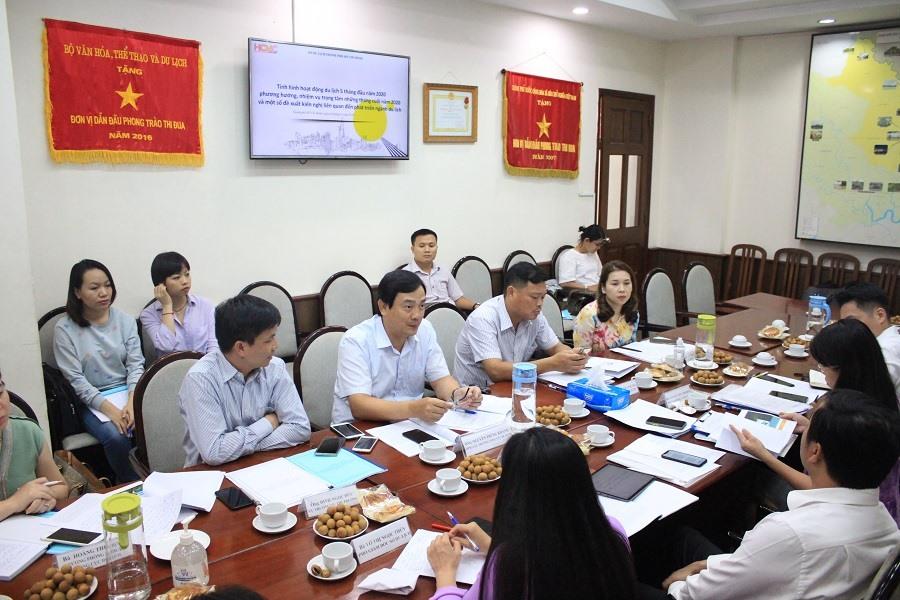Tổng cục Du lịch làm việc với Sở Du lịch TP. Hồ Chí Minh về định hướng phục hồi và phát triển du lịch trong thời gian tới