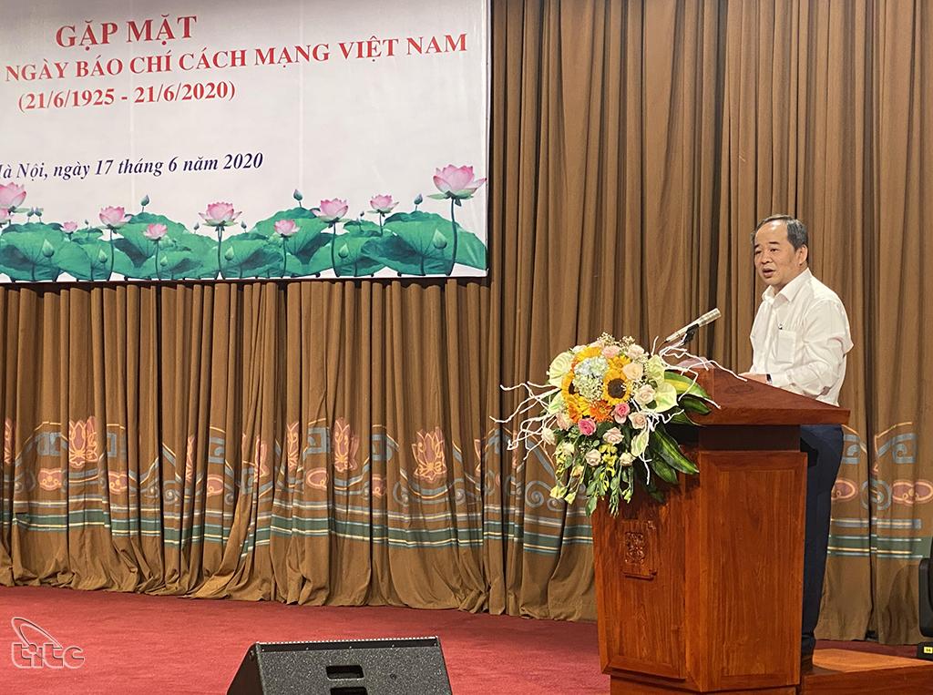 Bộ VHTTDL gặp mặt tri ân báo chí nhân dịp kỷ niệm Ngày Báo chí cách mạng Việt Nam