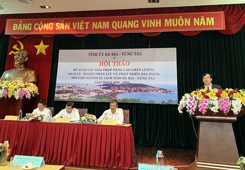 Tổng cục trưởng Nguyễn Trùng Khánh: Bà Rịa - Vũng Tàu cần phát triển du lịch nghỉ dưỡng đẳng cấp quốc tế gắn với thiên nhiên và văn hóa bản địa