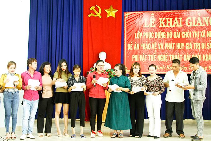 Khôi phục bài chòi dân gian ở Ninh Hòa (Khánh Hòa)