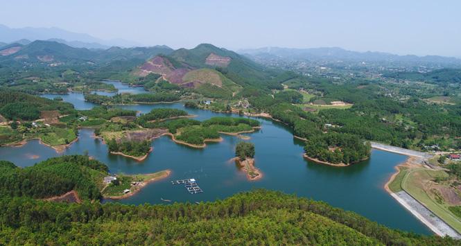 Hồ Ghềnh Chè (Thái Nguyên) - Điểm du lịch sinh thái hấp dẫn