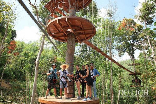 """Khám phá """"khu rừng"""" độc đáo tại Nha Trang (Khánh Hòa)"""