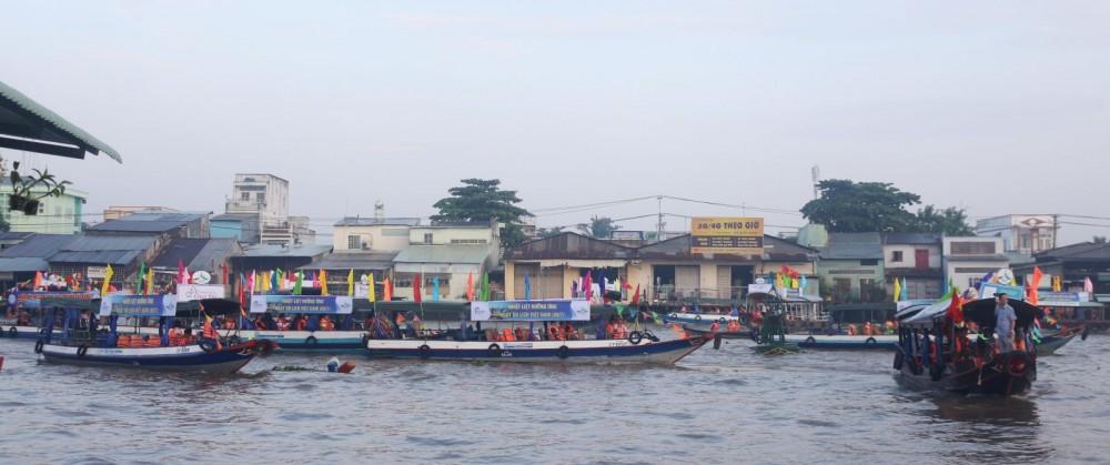 Cần Thơ: Dừng tổ chức Ngày hội Du lịch Văn hóa chợ nổi Cái Răng năm 2020