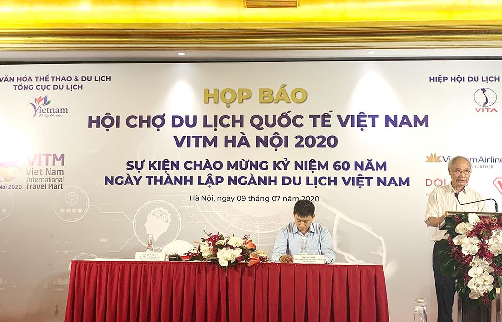 Hội chợ Du lịch Quốc tế Việt Nam VITM Hà Nội 2020 sẽ diễn ra từ 12-15/8/2020