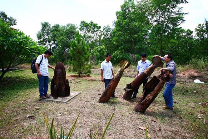 ''Bảo tàng bom mìn'' ở Quảng Trị