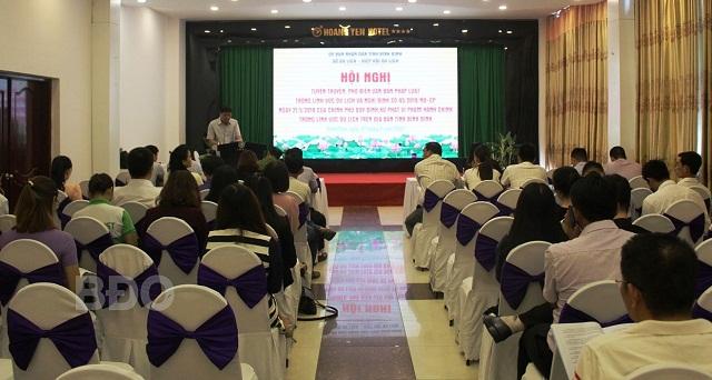 Bình Định: Tuyên truyền, phổ biến văn bản pháp luật về du lịch