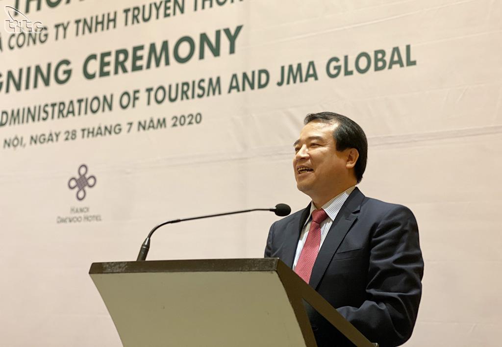 Tổng cục Du lịch và JMA ký kết hợp tác quảng bá du lịch Việt Nam hậu Covid-19