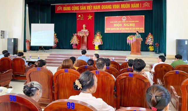 Cẩm Thủy (Thanh Hóa) tuyên truyền ứng xử văn minh du lịch năm 2020