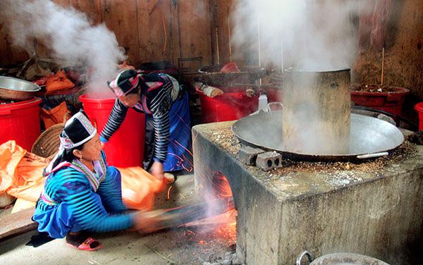 Văn hóa ẩm thực của người Mông