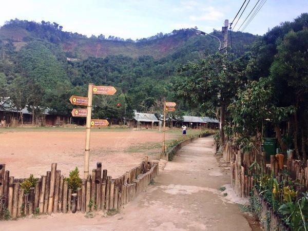 Quảng Nam: Đồng bào Cơ tu làm du lịch xanh