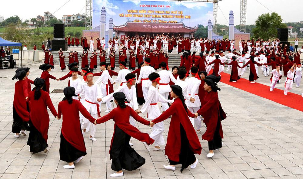 Việt Trì(Phú Thọ) - Điểm hẹn Lễ hội về với cội nguồn dân tộc Việt Nam