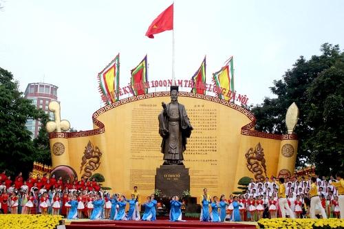 Nhiều hoạt động ý nghĩa chào mừng 1010 năm Thăng Long - Hà Nội