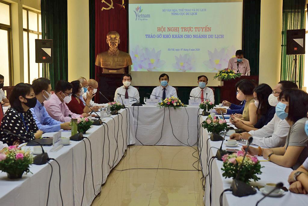 Tổng cục trưởng Nguyễn Trùng Khánh: Hợp tác, chia sẻ khó khăn lúc này là tiền đề phục hồi ngành Du lịch thời gian tới