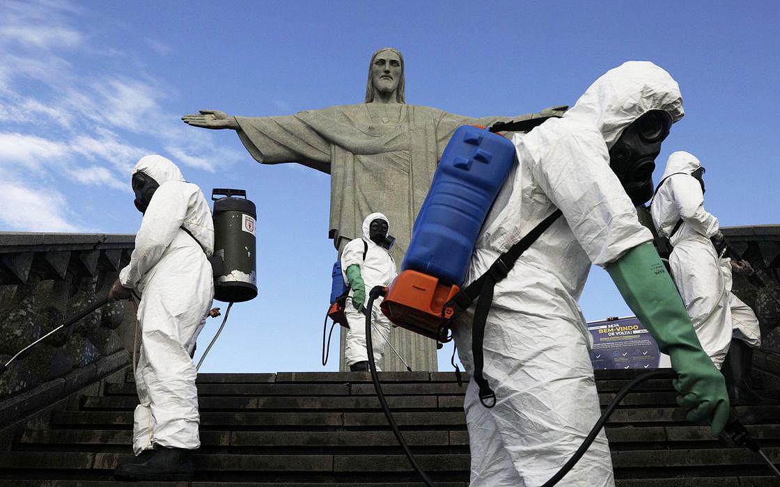 Brazil mở cửa trở lại nhiều điểm tham quan nổi tiếng