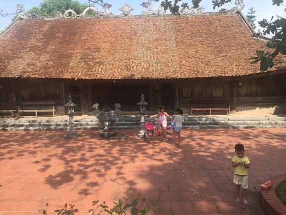 Nét đẹp làng cổ ven đê Thanh Cù, Hưng Yên