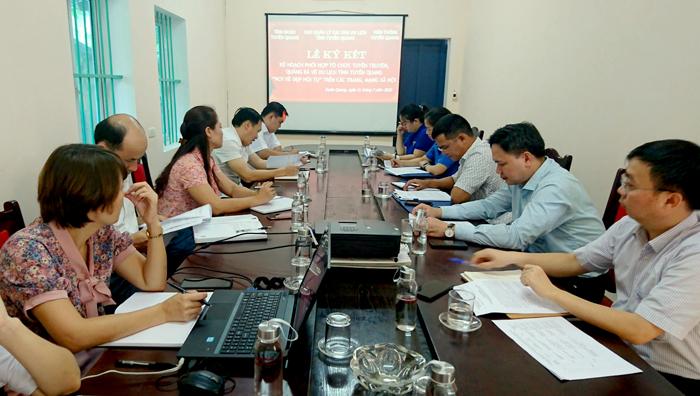 """Quảng bá về du lịch tỉnh Tuyên Quang """"Nơi vẻ đẹp hội tụ"""" trên các trang, mạng xã hội"""