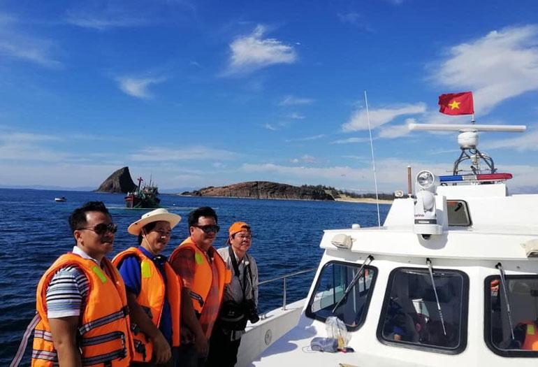 Phú Yên: Khảo sát điều kiện đầu tư loại hình du lịch tàu biển