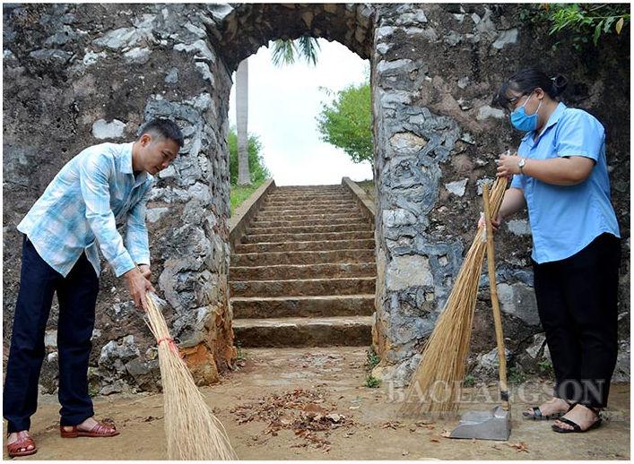 Lạng Sơn: Phát huy giá trị di tích thành nhà Mạc