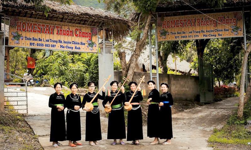 Chiêm Hóa (Tuyên Quang) khai thác tiềm năng phát triển du lịch