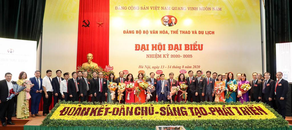Đại hội Đại biểu Đảng bộ Bộ VHTTDL nhiệm kỳ 2020-2025: Đoàn kết - Dân chủ - Sáng tạo - Phát triển