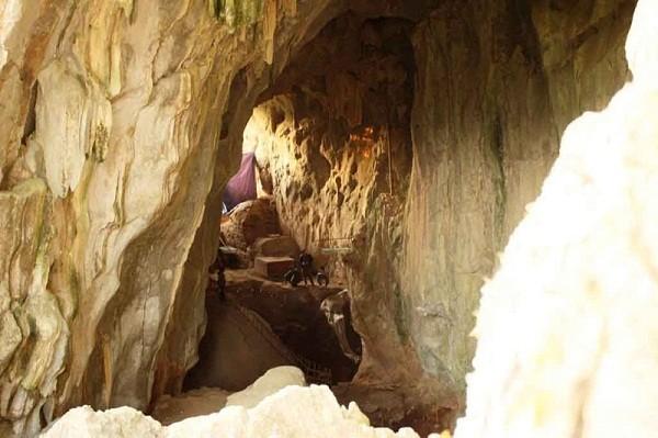 Bảo tồn giá trị di tích khảo cổ hang Con Moong ở Thanh Hóa