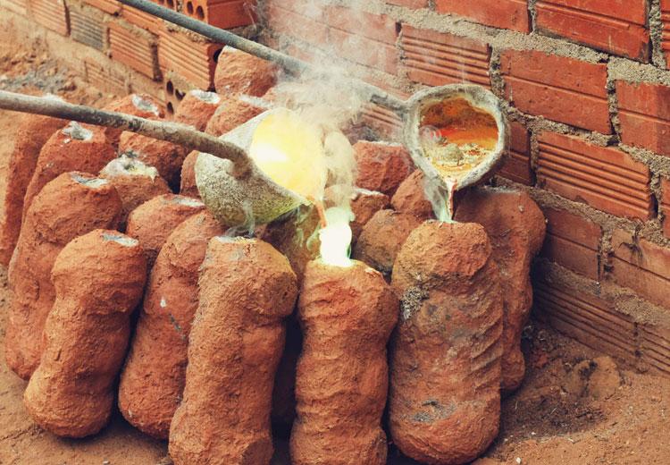 Thăm làng nghề đúc đồng trăm tuổi ở ngoại thành Nha Trang