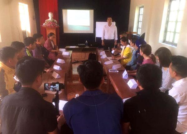 Bát Xát (Lào Cai): 30 người được đào tạo nghiệp vụ hướng dẫn viên du lịch