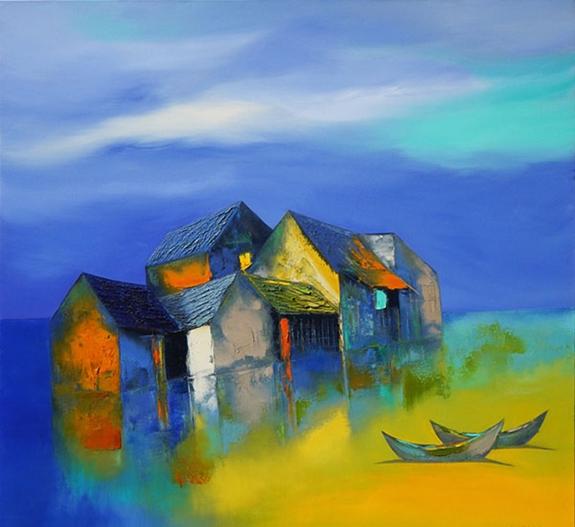 Triển lãm tác phẩm của các họa sĩ đương đại hàng đầu trên thị trường mỹ thuật