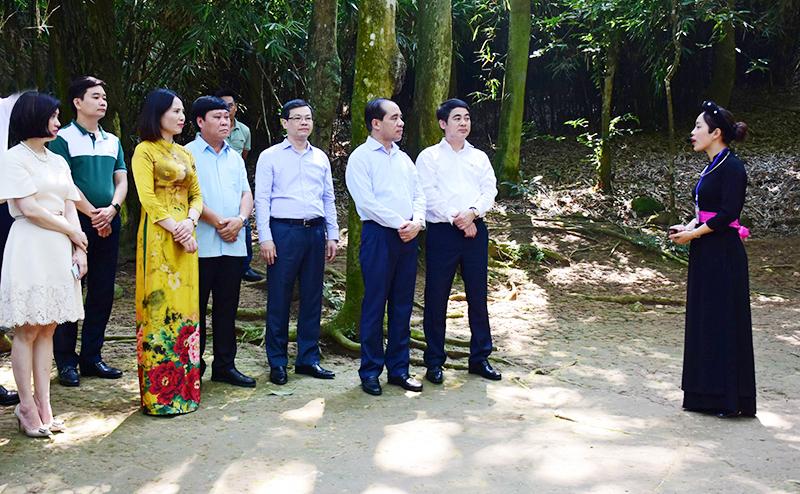Tiếp nhận công trình hệ thống âm thanh tại Cụm di tích Nà Nưa, Tuyên Quang