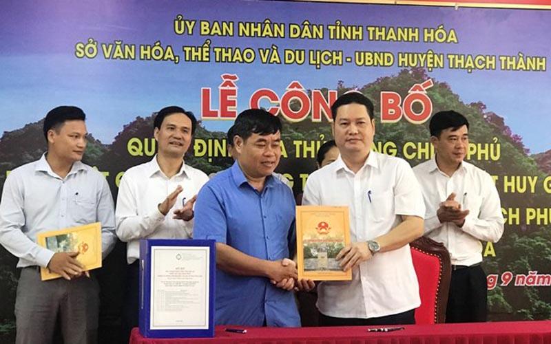 Thanh Hóa: Phát huy giá trị di tích hang Con Moong và các di tích phụ cận