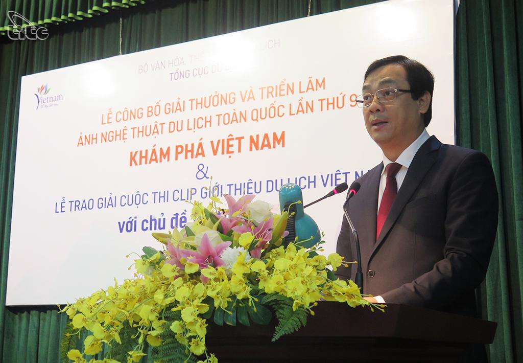 Tổng cục trưởng Nguyễn Trùng Khánh: Cuộc thi video clip và ảnh nghệ thuật góp phần quảng bá du lịch Việt Nam, nâng cao nhận thức của xã hội về du lịch