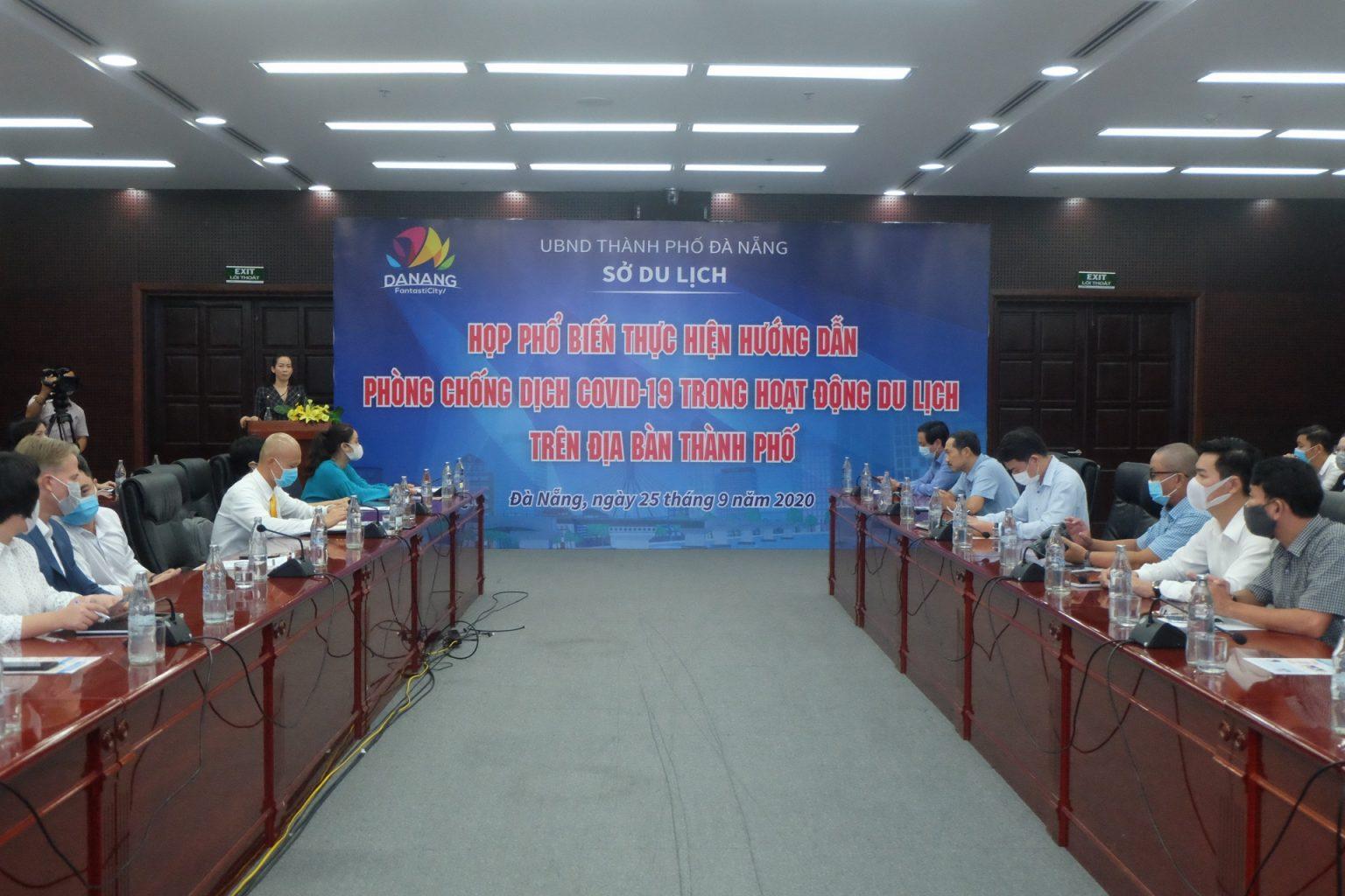 Thông tin phổ biến thực hiện hướng dẫn phòng chống dịch Covid-19 trong hoạt động du lịch trên địa bàn thành phố Đà Nẵng trong tình hình bình thường mới