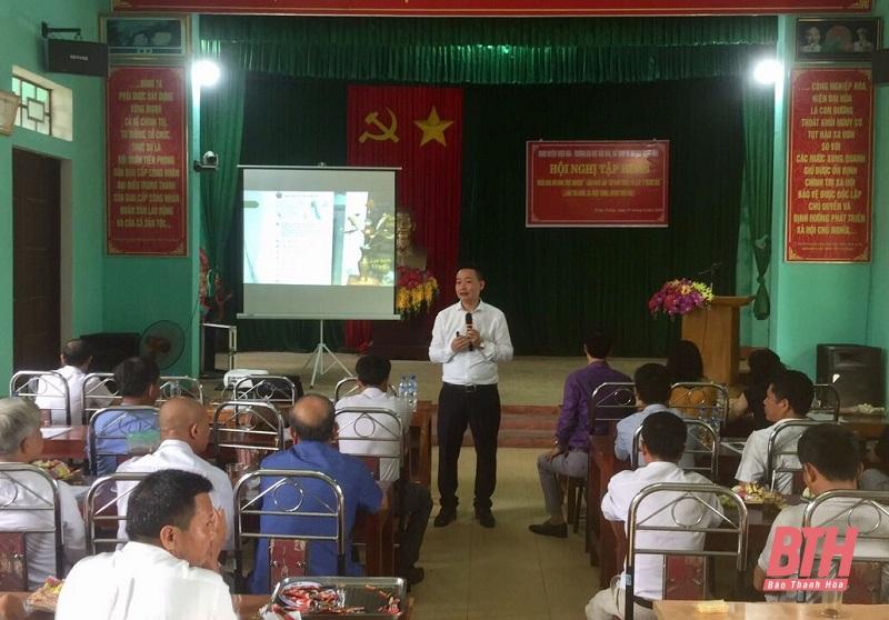 Huyện Thiệu Hóa (Thanh Hóa): Tập huấn về hỗ trợ kỹ năng du lịch