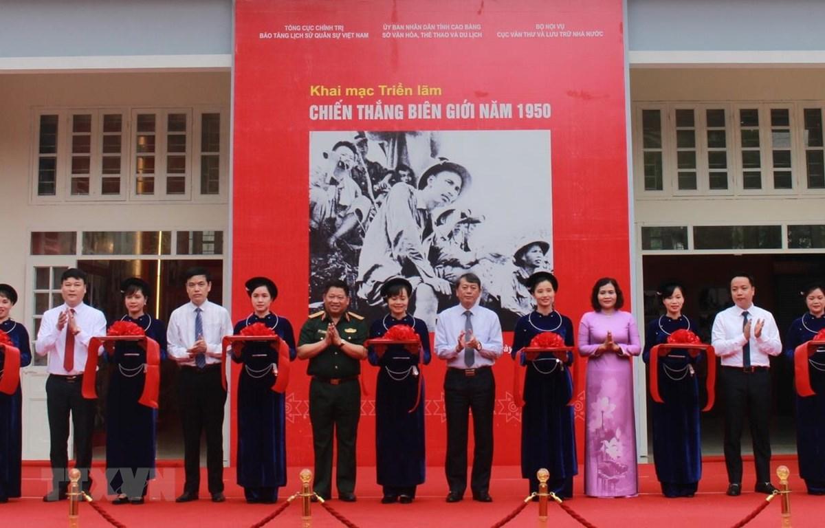 Cao Bằng: Khai mạc Triển lãm Chiến thắng Biên giới 1950