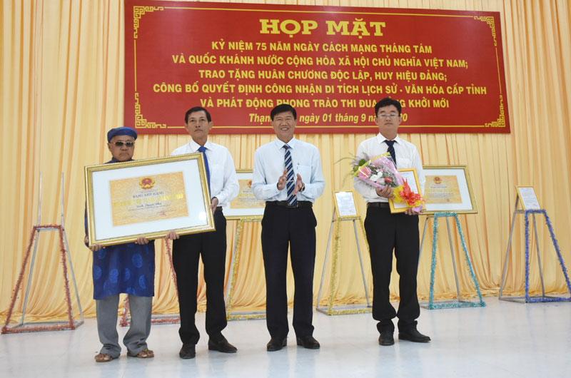 Thạnh Phú (Bến Tre): Ba sự kiện được công nhận Di tích lịch sử - văn hóa cấp tỉnh